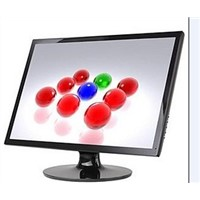 24-inch CCTV LCD Monitors with 1680*1050 Pixels, VGA/AV/HDMI Input is Optional