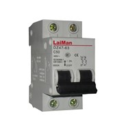 DZ47 series circuit breakers