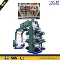 High Speed 6colors Flexographic Printing Machine (YT-H)