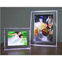 Indoor LED Ultrathin Light Box for Business Advertising with Power Supply