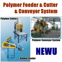 Polymer Cutter, Feeder and Conveyor System