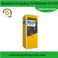 Touch Screen Billing and Payment Self-service Kiosk