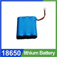 18650 battery mod, 3.7V, 6600mAh, li ion battery pack, 1s3p 18650 UL, CE 18650 battery