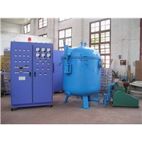 Heat treatment furnace carbon fiber graphitization furnace