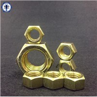 Hex Nuts SAE J995 Gr8 Zinc Yellow