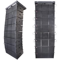 "Dual 12"" Woofer Speakers Professional Line Array System"