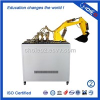 PLC Controlled Transparent Hydraulic Excavator Training Equipment,education simulator trainer