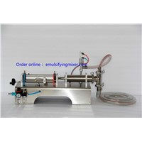 liquid filling machine 10-300ml single head for liquid or oil