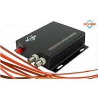 1/2/4/8 ch HDTVI to fiber optic converter for security system,720P/1080P,FC/SC/ST