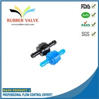 1/4 customized mini one way valve for inflatable mattress