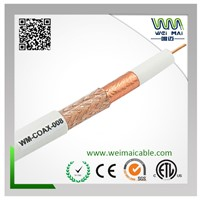 Coaxial Cable RG6 96% Braiding 75ohm china manufacturer supplier Item: WM-COAX-008