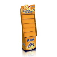 Vitamin Display Stands with 5 Shelves, Full Color Cardboard Display