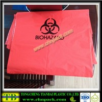 2016 red medical waste biohazard bag