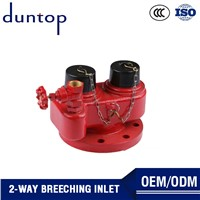 Ductile Cast Iron Drain Gate Valve Hydrant Ball Valve Fire Water Dividers 2 Ways Breeching Inlet