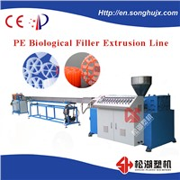 PE Biological Pipe Making Machine MBBR Filter Media Extrusion Line