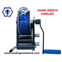3000lbs Hand Winch Brake Winch Boat Winch 3000lbs 3300lbs Hot Dipped Galv