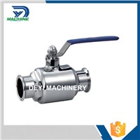 3A Stainless Steel Food Grade Tri Clamped Ball Valve