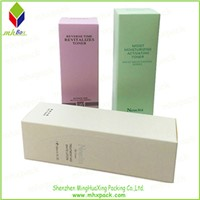 Wholasale Cardboard Packing Cosmetic Box