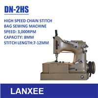 Lanxee DN-2 High Speed Automatic Lubrication Chain Stitch Bag Sewing Machine