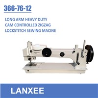 Lanxee 366-76-12 Cam control 1 2 3 Steps Zigzag Sewing Machine