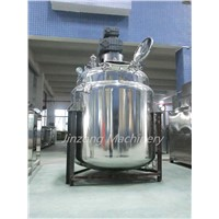 Stianless Steel Mixing Tanks With Agitator for Shmapoo, Liuqid, Beverage,Pharmaceutical, Chemical