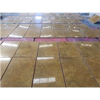 Yellow Color Marble Tiles (Cut To Sizes) - Golden Marble