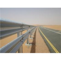 highway guardrail hot dip galvanized road barrier AASHTO standard type II class A