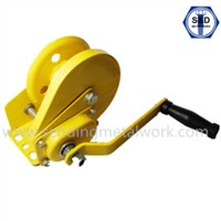 1200lbs Hand Winch Spray Working Load 550kg Powder Coated Brake Winch