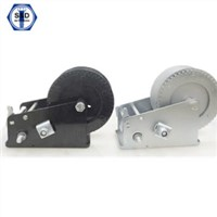 2000lbs Hand Winch Zinc Plated High Quality