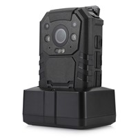 4G Wifi GPS IP65 Waterproof 1296P 11 hours continuous recording police body worn camera