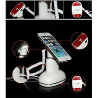 retail shop mobile security display stand with charging and alarm