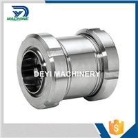 Stainless Steel Food Grade DIN Thread Non Return Valve with Union