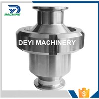 SS304 Hygienic Union Type Clamped Check Valve