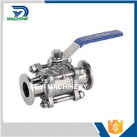 Stainless Steel Sanitary 3PCS Ball Valve