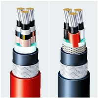 xlpe insulated low voltage underground power cable aluminum