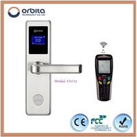 Orbita Hotel Digital Screen Mortise Lock with 100% Waterproof Function