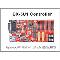 LED USB port led controller card BX-5U1 32*1024 pixel Onbon single color led control card led sign