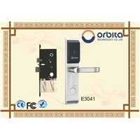 High Quality Full Stainless Steel Hotel RF Key Card Door Lock System