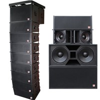 Musical Sound System Dual 15'' Line Array System