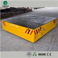 Stainless plant motorized coil transfer car