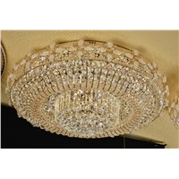 vintage crystal LED ceiling light D9923