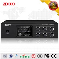 T-40B 40W MP3/FM/USB Oublic Address System Home Threater Mini Professional Power Mixier Amplifier