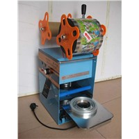 Automatic Plastic Cup Sealing Machine for Milk Tea Juicer Bubble Tea Packaging Machinery