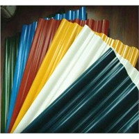 China building material colorful stone coated steel roofing