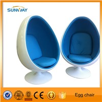 Suite for teeth whitening salon Egg pod chair with or without MP3