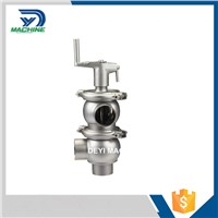 Sanitary Stainless Steel Manual Stop Valve