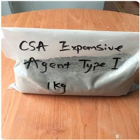 Shrinkage reducing agent CSA expansive agent