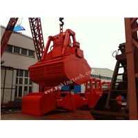 Electro-hydraulic clamshell grab For Marine Ship
