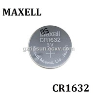 New Arrival 3V Maxell CR1632 Lithium Button Cell