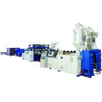 PVC Double Wall Corrugated Pipe Making Machine